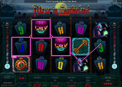 Alaxe in Zombieland Slots