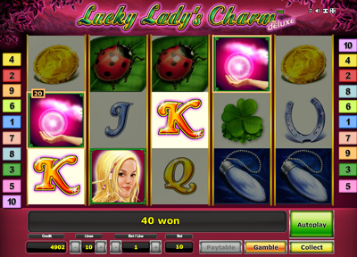 casino slots free online play lady lucky charm