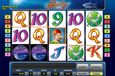 online slot sharky slot