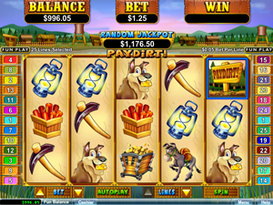 PayDirt Slot Machine by RTG – Play Online for Free or Real