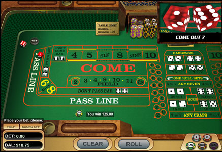 Casino Craps Online Games Free
