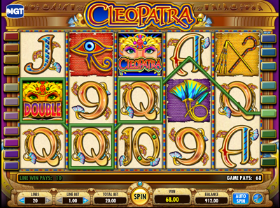 Cleopatras Coins Slots Free Play & Real Money Casinos