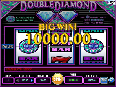 double diamond slot machine online free