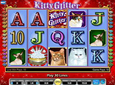 Kitty Glitter Slots Free Play & Real Money Casinos