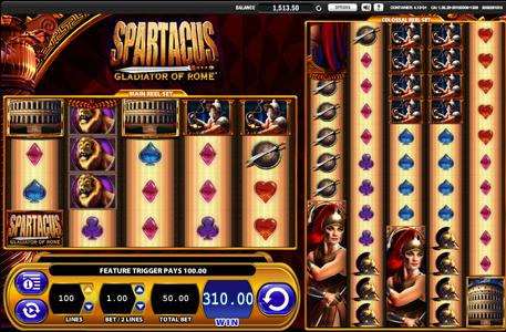 Spartacus Free Slots Online