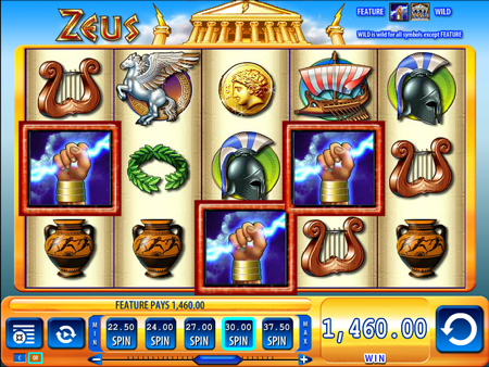 zeus slot machine online play